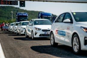 Kia obnovila flotilu mosteckého Autodromu