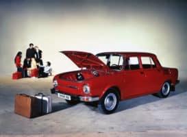 Před 50 lety: Škoda začala vyrábět řadu 100