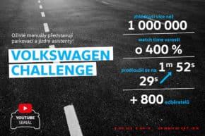 Seriál Challenge zvedl sledovanost VW na YouTube