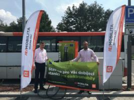 Kolín má dvě nové rychlodobíjecí stanice
