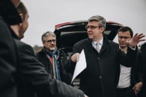Ministr Havlíček navštívil výsypku BMW