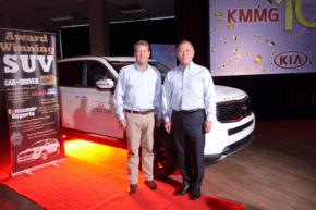 Kia oslavila desetiletí výroby aut v Georgii