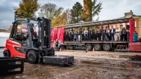 Linde MH ukázala novou generaci vozíků v Berlíně
