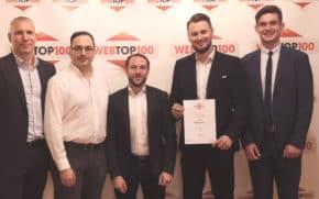 WebTop 100: ING na stupních vítězů