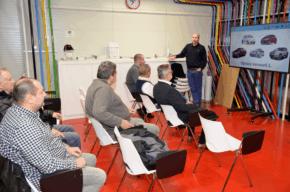 Interaction podpořila vzdělávání voboru Karosář