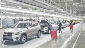 KIA otevřela výrobní závod v Indii