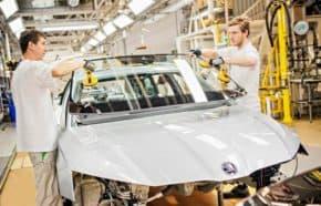 Výroba motorových vozidel v lednu vzrostla