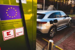 Kaufland přidal dvě dobíječky pro elektromobily