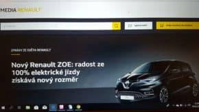 Renault má nové webovky pro novináře