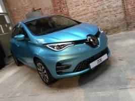 Renault Zoe měl premiéru v kabelovně