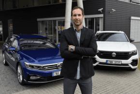 Brankář Petr Čech tváří Volkswagenu