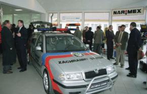 Autodrom dal vůz Policejní historické společnosti