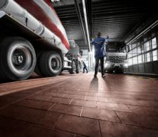 Servisní síť Daimler Trucks & Buses v provozu