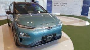Hyundai zahájil výrobu Kony Electric v Nošovicích