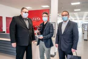 Kia otevřela v Česku tři nové showroomy