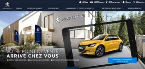 Peugeot Store: 14 000 návštěv za 2 dny