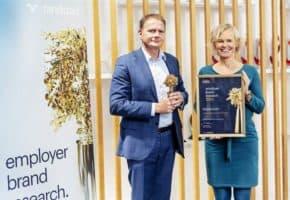 Škoda obdržela cenu Randstad Award 2020