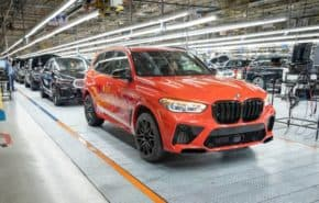 Pětimilionté BMW vyrobené ve Spartanburgu