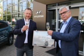 Saitz s Pavlíčkem otevřeli 46. dealerství Hyundai