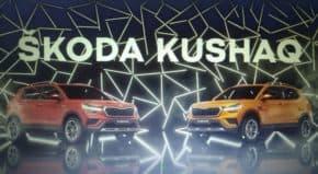 Škoda měla světovou premiéru SUV Kushaq
