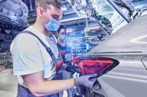 Audi vyrábí model Q4 e-tron ve Cvikově