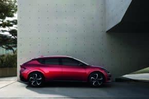 Kia měla světovou premiéru elektromobilu EV6