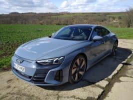 Čeští novináři testovali Audi e-tron GT