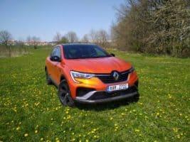 Novináři testovali Renault Arkana v Praze