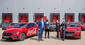 Volkswagen FS předal 430 vozů Coca-Cole