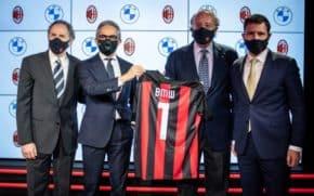 BMW sponzorem klubu AC Milán