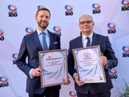 Toyota má cenu Czech Top 100 za vodík