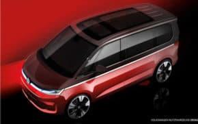 Volkswagen měl světovou premiéru Multivanu