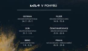 Česká Kia rozjíždí dynamické turné